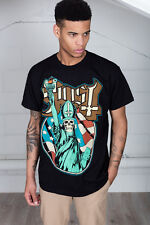 Official Ghost Statue Of Liberty Unisex T-Shirt Here's Papa Opus Chosen Son Band