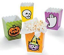 Confezione di 12-Mini Personaggio Halloween Scatole Popcorn-Halloween Festa OMAGGI
