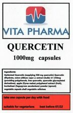 HIGH STRENGTH QUERCETIN 1000mg 365 caps immune health anti bacterial