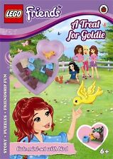 LEGO Friends: A Treat for Goldie Activity Book with Mini-set, aa vv, Very Good c