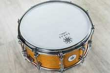 Sakae Silky Oak and Beech 14in X 6.5in Snare Drum 2017 Transparent Amber