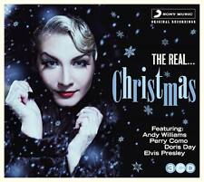 THE REAL CHRISTMAS 3CD Doris Day Elvis Presley Perry Como Ray Conniff Weihnacht