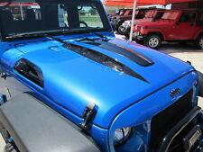 07-18 Black Mountain Jeep JK Wrangler Cowl Hood w/ vents * Avenger Style *