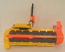 Nerf N-Strike Recon CS-6 Yellow Barrel Extension & Flip Sight Replacement Part