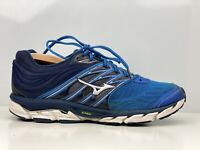 Mizuno Wave Paradox 5 Mens Blue Mesh Running Shoe Trainers UK Size 9.5