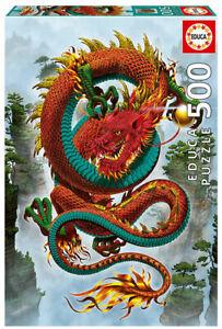 El Dragon de la buena fortuna Educa puzzle 500 piezas 34 x 48cm