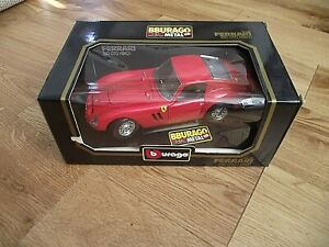Burago BBurago 1/18 model Ferrari 250 GTO 1962 3011 EXCELLENT BOXED CONDITION