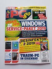 PC go  1/2019  WINDOWS Service - Paket 2019 + DVD   ungelesen, 1A TOP Zustand