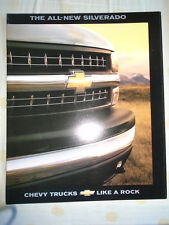 Chevrolet USA Silverado brochure 1998