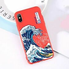 Phone Case The Big Wave Kanagawa Soft Back Cover For iPhone X XS SE XR XS MAX