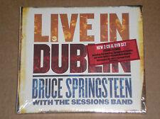 BRUCE SPRINGSTEEN - LIVE IN DUBLIN - 2 CD + DVD SIGILLATO (SEALED)
