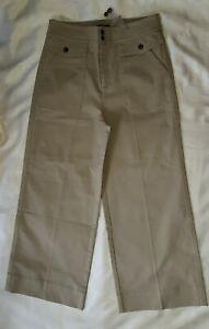 New Designer Class Style Wide Leg Jeans Trousers by J CREW  14 U.K (RRP £110)