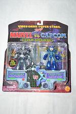 Toy Biz Marvel VS Capcom War Machine VS Megaman Rockman 2 set figures NEW