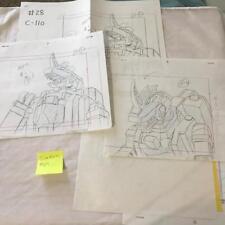 TRANSFORMERS JAPANESE BEAST WARS 2 II PRODUCTION ART GIGASTORM LOT 69