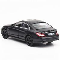 1:36 CLS 63 AMG Die Cast Modellauto Auto Spielzeug Schwarz Sammlung Pull Back