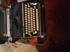 1960's Adler model J5 typewriter with case AND EXTRA RIBBON-MANUEL WORKS GREAT
