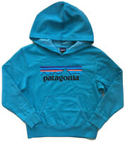 PATAGONIA Kids Boys Girls P6 Logo Sweatshirt Hoodie Pullover NWT SMALL MEDIUM
