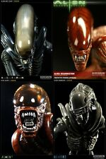 SIDESHOW H. R. Giger ALIEN: Big Chap, Warrior, Dog, Resurrection 4 STATUE NEW