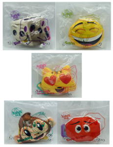 Emoji Movie 2017 Mcdonalds Happy Meal Various Figures Unopened Toys Collectable