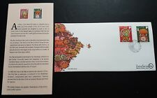 Singapore 1996 Zodiac Lunar New Year of the Rat 2v Stamps FDC