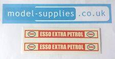Matchbox 74B Daimler Bus Esso Extra Petrol Reproduction Waterslide Transfers Set