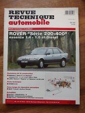 RTA Revue technique automobile #562 Rover Série 200 et série 400
