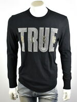 True Religion Men's Metallic Embroidered Graphic Shirt Top - MSJAH8N163 Size S