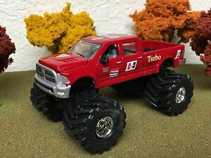 1/64 Custom Lifted DODGE RAM 2500, TRICKED OUT & SWEET, Farm Toy Truck