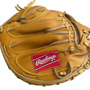 Rawlings RCM8 Ted Simmons Model Baseball Glove Catchers Mitt Korea Left Rare