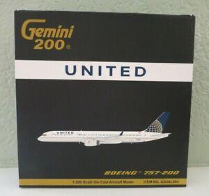 Gemini Jets United Airlines Boeing 757-200 1/200 Model - N29124 - G2UAL204