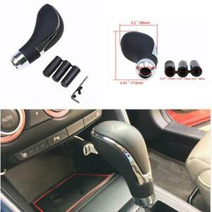 Universal Leather Car Truck Gear Shift Knob Shifter Lever Fit Manual Automatic