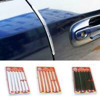 1Set Universal Car Door Edge Guard Strip Protect Anti-collision Anti-crash Y8P0