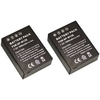 2 x Replacement for Fujifilm NP-W126 Battery for XT1 XE XM1 XA1 X-PRO1 HS33EXR