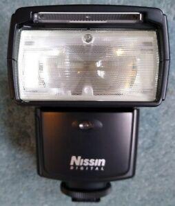 Nissin Speedlite Di466 flash gun and bits. For Canon. Unused, still in box.
