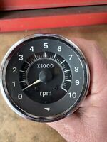 "Vintage 3 3/8"" TACH - MADE IN JAPAN - DATSUN TOYOTA MAZDA JDM 10,000 RPM 4cyl"
