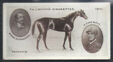 SMITHS-DERBY WINNERS-#08- HORSE RACING - FAVONIUS