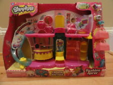 Shopkins Fashion Spree Boutique Playset Season 3 with 4 Exclusive Shopkins NEW