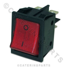 LINCAT Rouge Illuminé Rocker Power Switch On Off Four Grille-Pain Socle Grill
