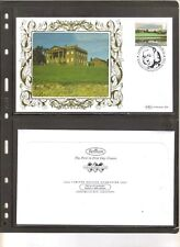 GB BERRINGTON HALL LANDSCAPE GARDENS CAPABILITY BROWN COVER 2016 STAMPS BENHAM