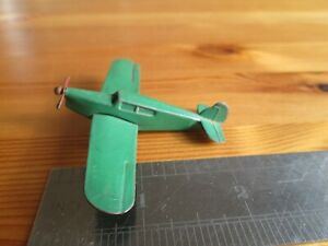 Dinky 60k - Light Tourer (Percival 'Gull') plane. green. VGC