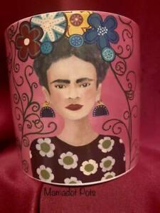 Frida Kahlo Ceramic Planter Pot Large 13.5cmx13.5cmx12cm