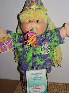 Cabbage Patch Kids Very Rare Vintage MOOB Gorgeous Girl Long Yellow hair