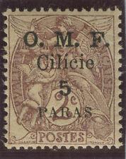 FRANCE TURKEY CILICIA 1920 Scott 117f NH CV$67.50