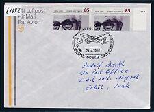 64692) LH FF Frankfurt - Erbil Irak 25.4.2010, Brief MeF Brille Optik