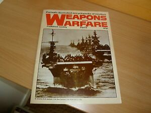 WEAPONS AND WARFARE MAGAZINE, PURNELLS, PART 8, 1978, WEEKLY