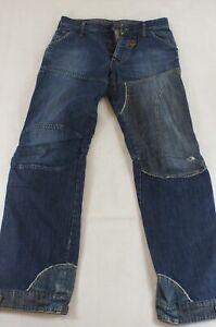 G-Star Jeans Concept Elwood Straight-Cut W31 L34 31/34 blau uni -1023
