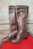 Cole Haan  Leather Boots Tall  brown leather size 6