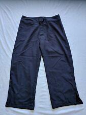"Patagonia Women's Athletic Hiking Capris Black Size 6 23"" Inseam"