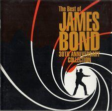 VARIOUS: 'James Bond 30th Anniversary' CD Bassey, Jones, Wings, Duran, AHa Barry