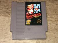 Super Mario Bros. Nintendo Nes Cleaned & Tested Authentic